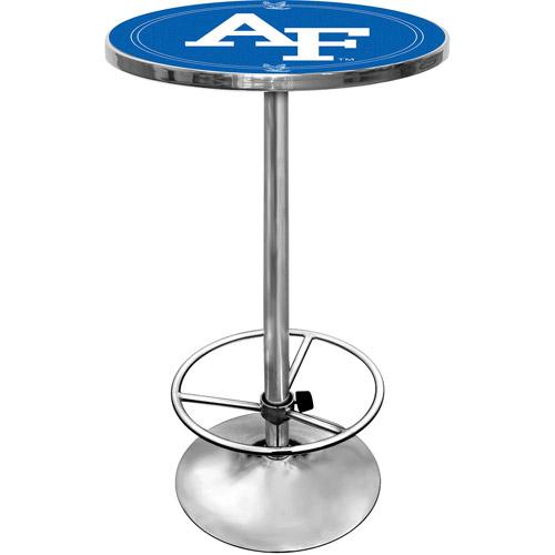 """Trademark Air Force Falcons 42"""" Pub Table, Chrome"""