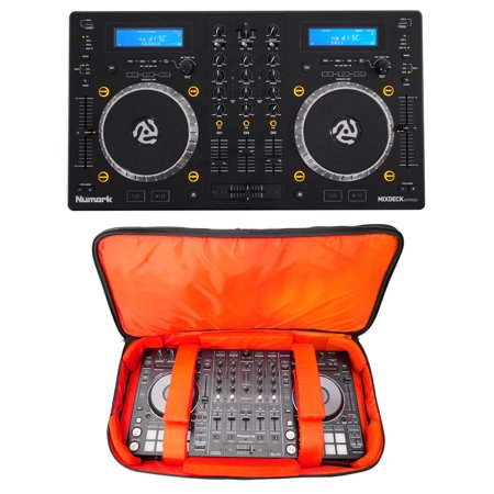 Numark Mixdeck Express Premium DJ Mixer/Controller + Travel Bag Carry Case