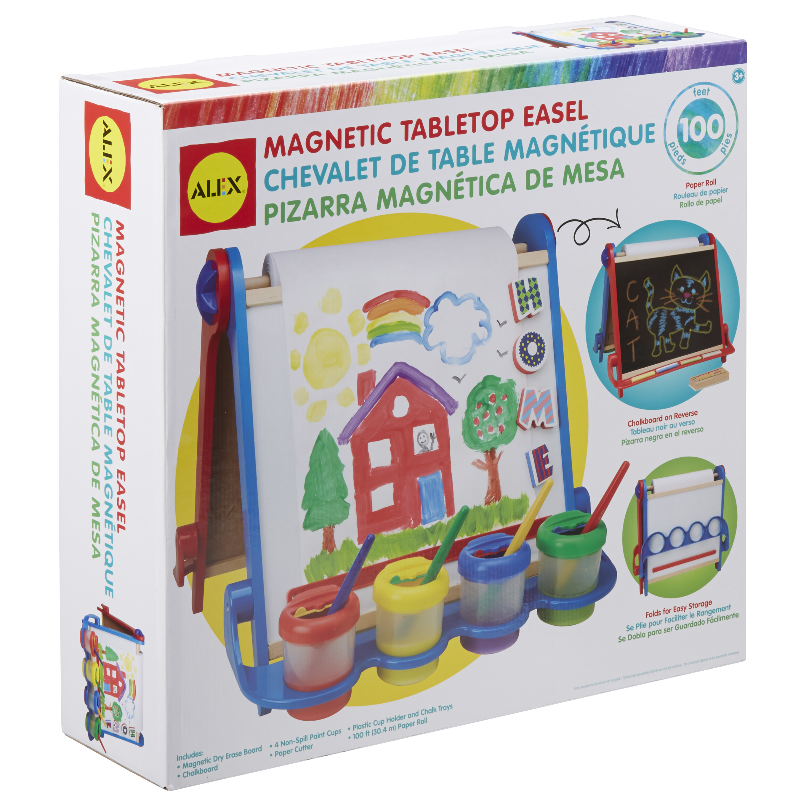 ALEX Toys Artist Studio Magnetic Tabletop Easel