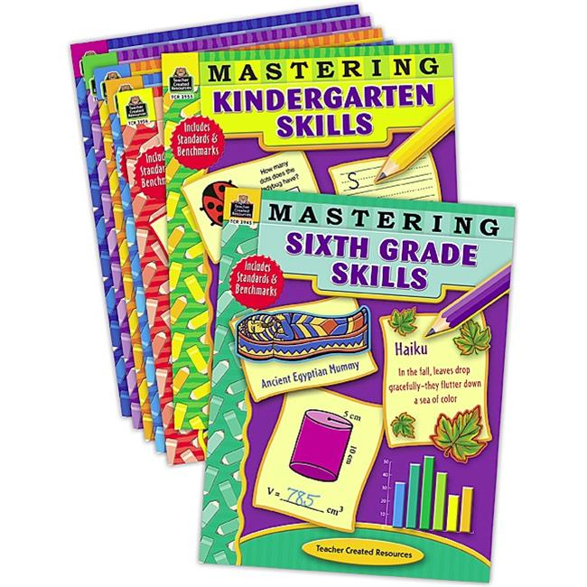 Teacher Created Materials 9823 Mastering Skills Set - 7 B...