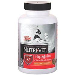 Nutri Vet 3251246 01271 0 Hip   Joint Chewable Food  Pack Of 75