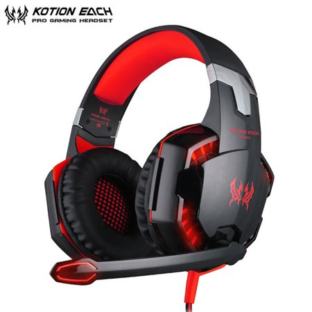 Kotion Each G2000 Gaming Headset For Ps4 Playstation 4 Slim Ps4 Pro