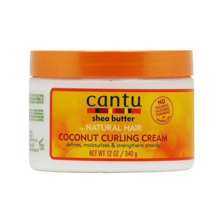 Vo Toy Natural (Cantu Shea Butter for Natural Hair Coconut Curling Cream 12 oz. )