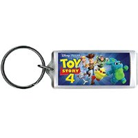 Disney Toy Story 4 Fun Group Woody, Buzz & More Lucite Keychain