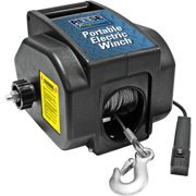 (2 pack) Reese Towpower Portable Electric Winch