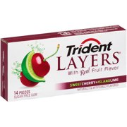 TRIDENT LAYER CHRY/LIME - 1 ct. of BOX/12