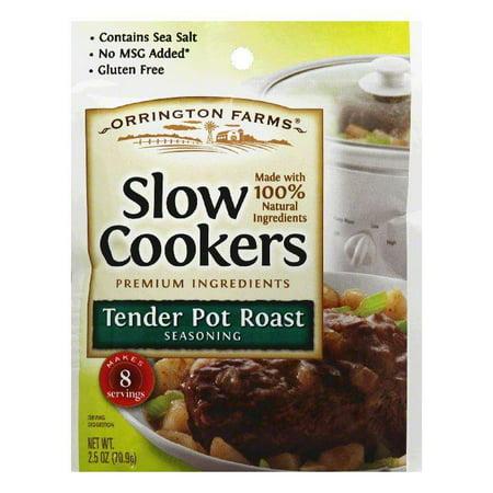 Orrington Farms Tender Pot Roast Slow Cookers Seasoning, 2.5 Oz (Pack of 12) Orrington Farms Tender Pot Roast Slow Cookers Seasoning, 2.5 Oz (Pack of 12)