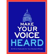 Make Your Voice Heard Postcard Book: Send a Message to Your Elected Officials (Paperback)
