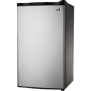 Igloo 3.2 cu. ft. Refrigerator and Freezer, Platinum