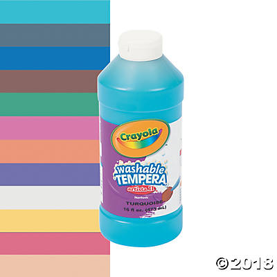 Crayola® Artista II Washable Blue Tempera Paint - 16 oz.(pack of 1)