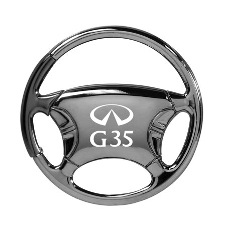 Infiniti G35 Black Chrome Steering Wheel Key Chain 2006 Infiniti G35 Coupe Horsepower