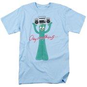 Gumby Clay Anything Mens Short Sleeve Shirt