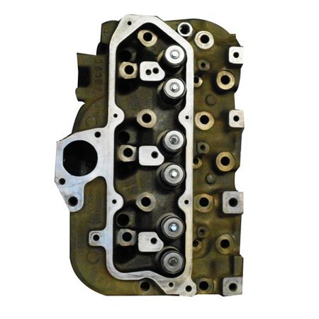 Flat Head Cylinder Heads (Cylinder Head with Valves, Remanufactured, John Deere, RE507618 )