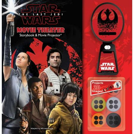 Star Wars: The Last Jedi Movie Theater Storybook & Movie