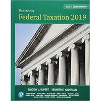 Pearson's Federal Taxation 2019 Comprehensive Plus Mylab Accounting with Pearson Etext -- Access Card Package