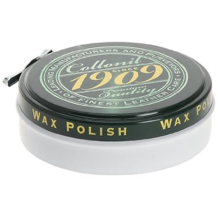 Shoe Paste Wax - Classic Tin Of High Gloss Shoe Paste Collonil 1909 Premium Leather Wax 75 ml (Colourless)