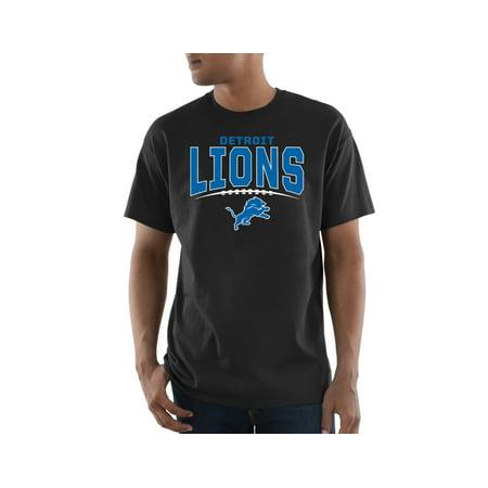 Nfl Detroit Lions Battle Intensity Big Mens Short Sleeve Tee