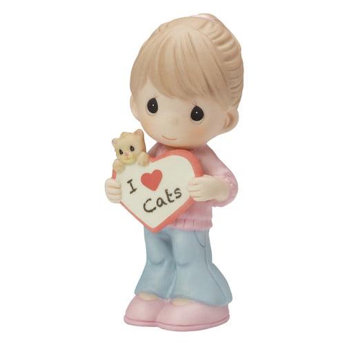 Precious Moments I Love Cats Figurine by Precious Moments