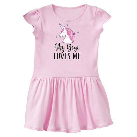 My Gigi Loves Me Unicorn Girls Toddler Dress
