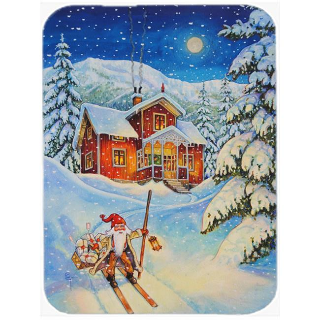 Carolines Treasures ACG0147MP Christmas Gnome Headed Out Mouse Pad, Hot Pad or Trivet - image 1 of 1