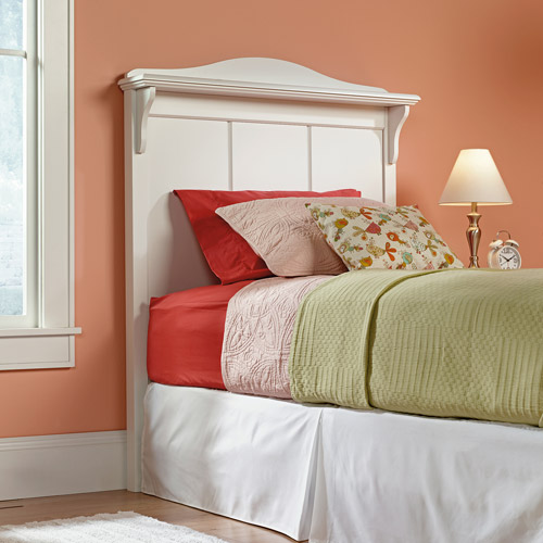 sauder pogo twin headboard, soft white  walmart, Headboard designs