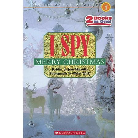 I Spy Merry Christmas (Scholastic Reader, Level 1) ()