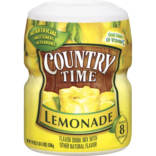 Country Time Lemonade 8Qt