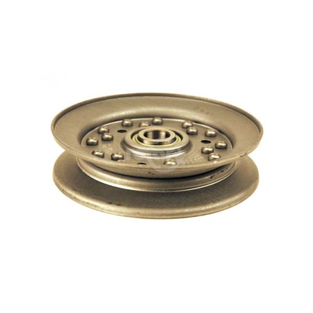 Dixie Chopper 97319 Idler Pulley. Deck Drive Tensioner/Stationary Idler, C-Section V-Idler Pullley.  Fits XWD Series Diesel -