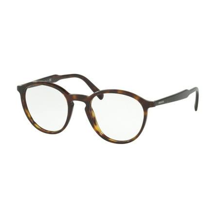 ecdaa92f7cc2 Prada 0PR 13TV Optical Full Rim Phantos Unisex Eyeglasses - Size 51  (Havana) - Walmart.com
