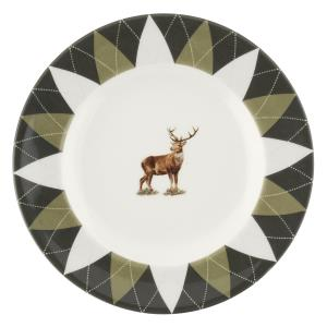 Spode GLEN LODGE STAG Argyle Bread & Butter Plate