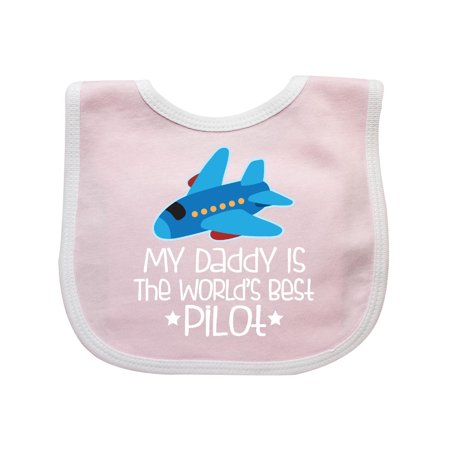 Daddy Is Worlds Best Pilot Airplane Childs Baby
