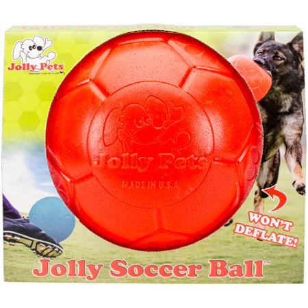 Jolly Pets -Horsemens Pride JB72081 Ballon de football Jolly orange, 8 po - image 1 de 1