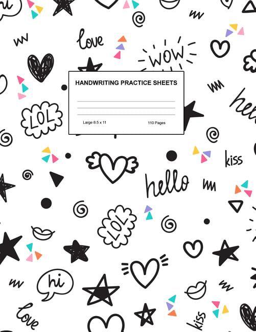 Blank Kindergarten Handwriting Worksheets