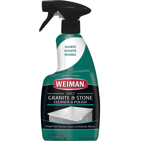 Weiman Granite Cleaner & Polish - 16 Ounce (Best Granite Polish And Sealer)