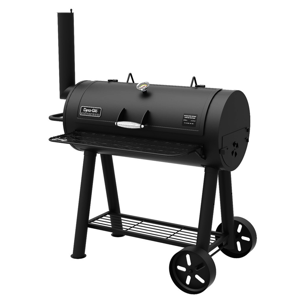Dyna-Glo DGSS675CB-D Signature Series Heavy-Duty Barrel Charcoal Grill