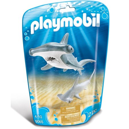 - Hammerhead Shark with Baby - Play Set by Playmobil (9065)