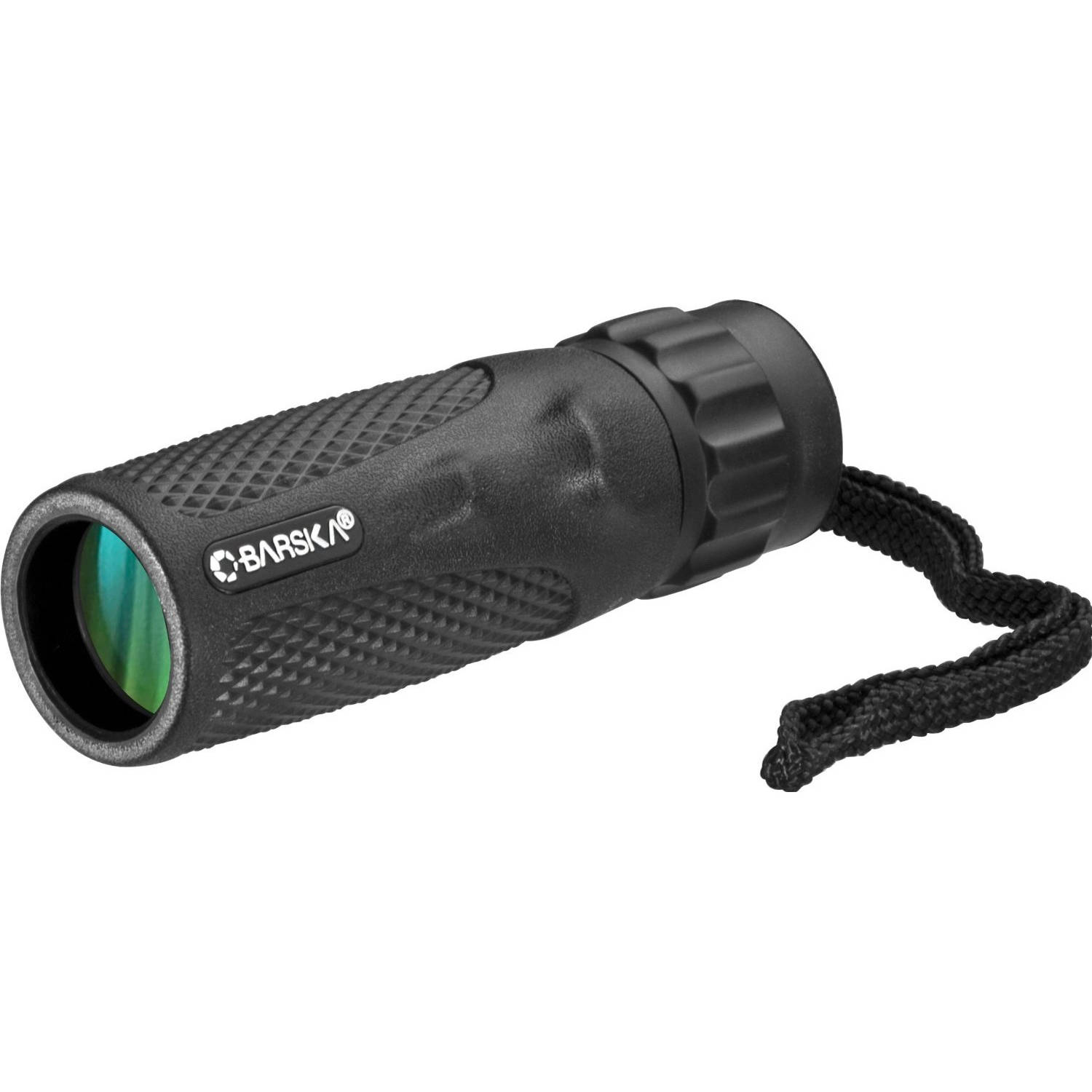 Barska 10x25 Waterproof Blackhawk Monocular with Carrying Case