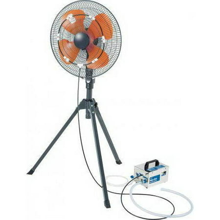 iLIVING USA iLIVING Best Cooling System Fan Misting Kit with 0.15 mm Anti-Drip Nozzles (Fan Not