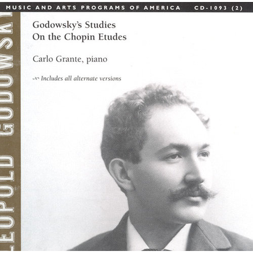 F. Chopin - Godowsky's Studies on the Chopin Etudes [CD]