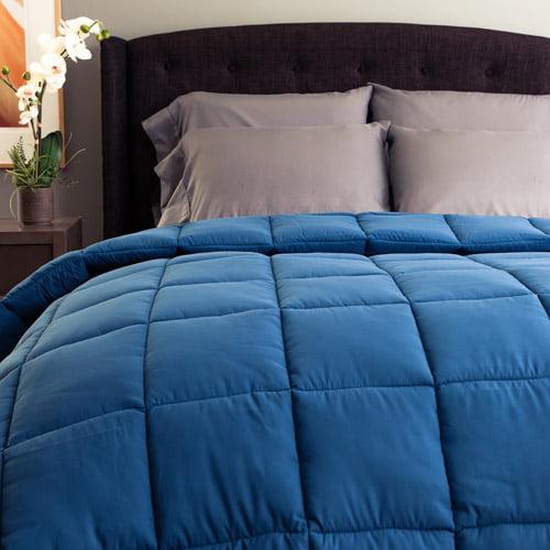 Cozy Classics Nautical Blue Peachy Down Alternative Comforter