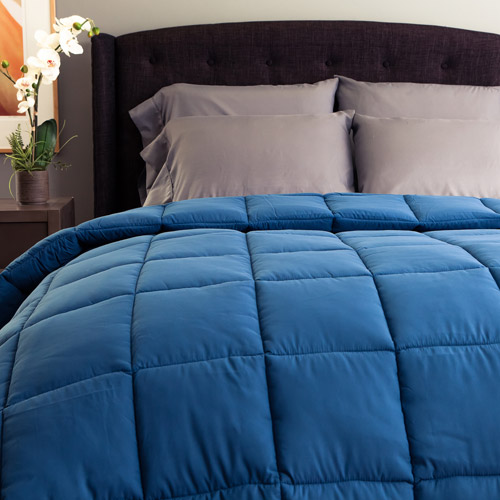Cozy Classics Nautical Blue Super Soft Down Alternative Comforter