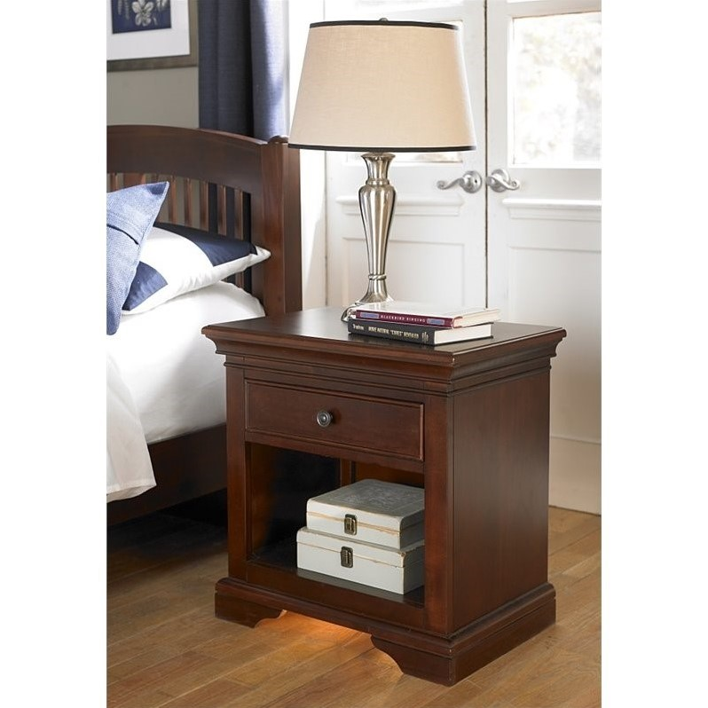 Rosebery Kids Nightstand in Chestnut