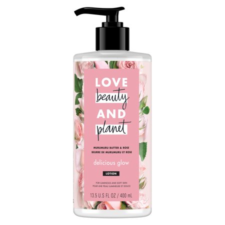 Love Beauty And Planet Murumuru Butter & Rose Body Lotion Delicious Glow 13.5 Fl OZ Caswell Massey Rose Body Lotion