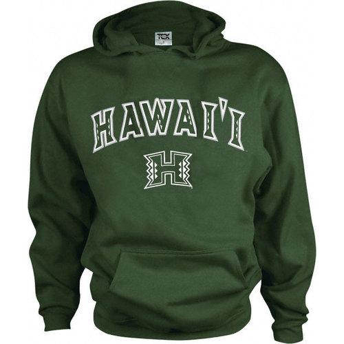 NCAA - Hawaii Warriors Kids/Youth Perennial Hooded Sweatshirt