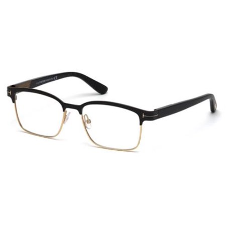 (TOM FORD Eyeglasses FT5323 002 Matte Black 54MM)