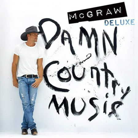 Tim Mcgraw   Damn Country Music  Deluxe Edition   Cd