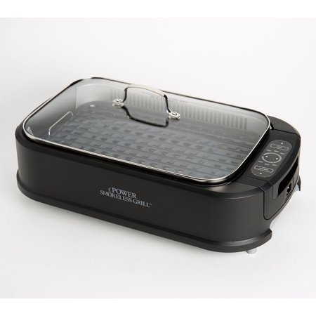 Power Smokeless Indoor Electric 1500W Grill w/ Griddle Plate Model K48367-Refurbished ()