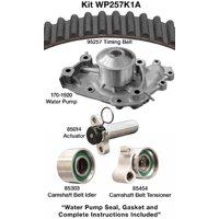 Dayco Premium T-Belt Kit w/ Water Pump, Without Seals