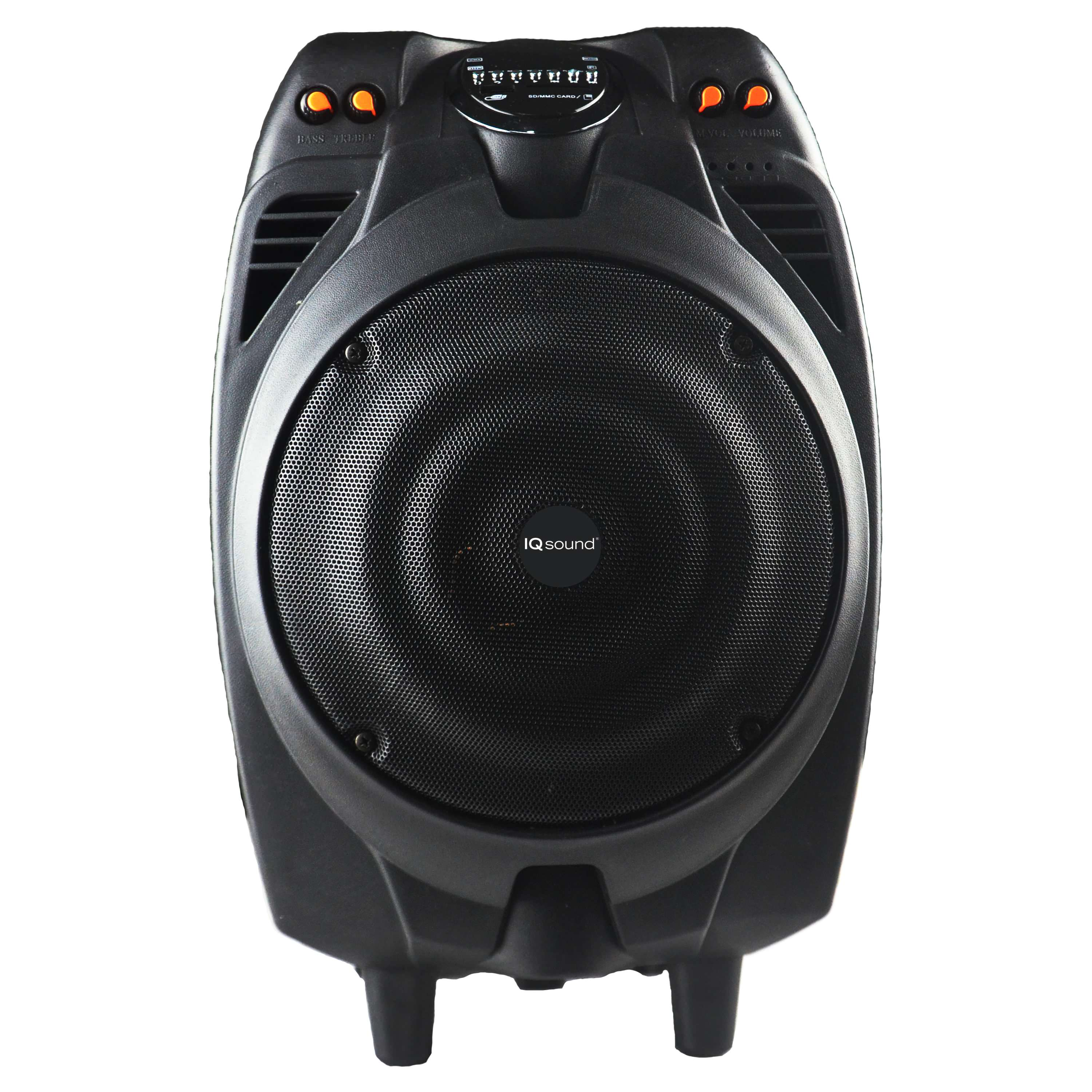 "10"" Portable Bluetooth DJ Speaker"