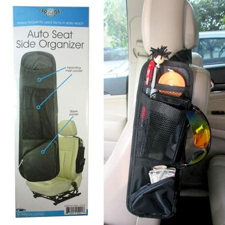 Car Seat Front Side Holder Organizer Storage Hanger Caddy Auto Mini Van SUV